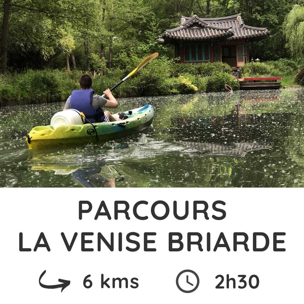 Parcours La Venise Briarde