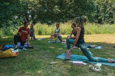 Package Yoga en plein air yogalab et canoe
