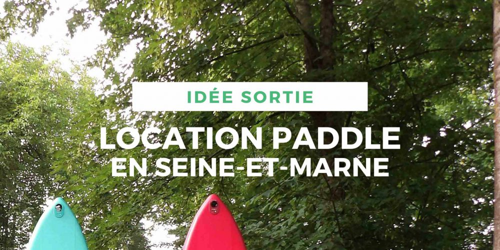 Location de stand up paddle seine et marne